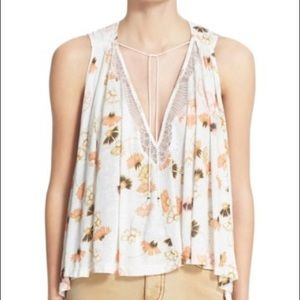 Free People 'Love Potion' tank. Size Small.